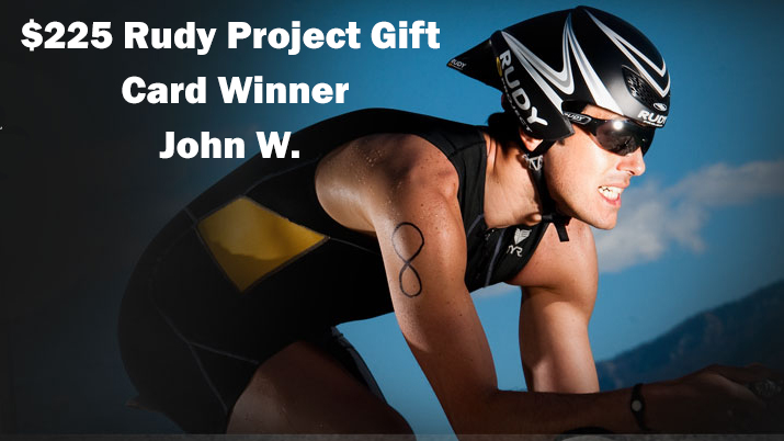 Rudy Project Gift Card Winner