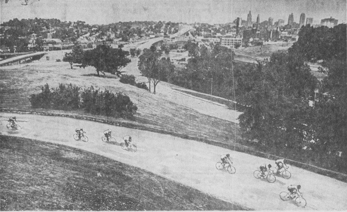 Tour of Kansas City Bike Race 1972